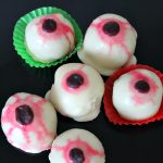 Cocoa Red velvet cake eyeballs recipe