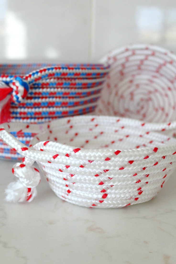 Diy Rope Bowl Sewing Tutorial