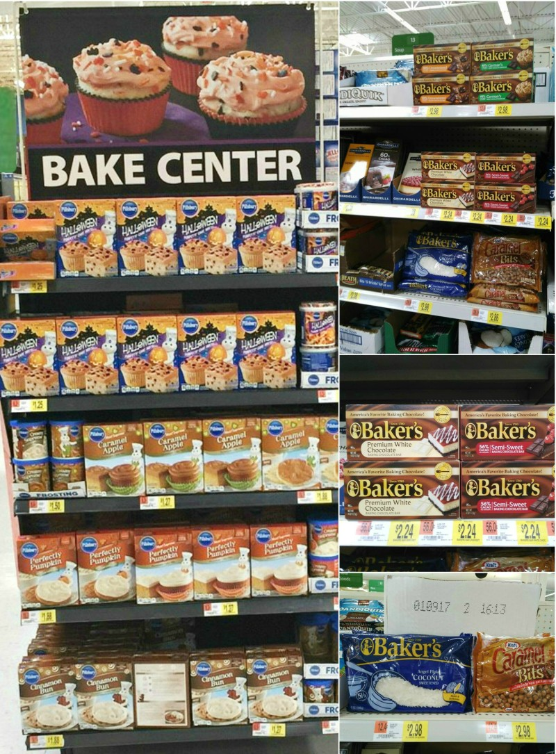 Walmart home bake center