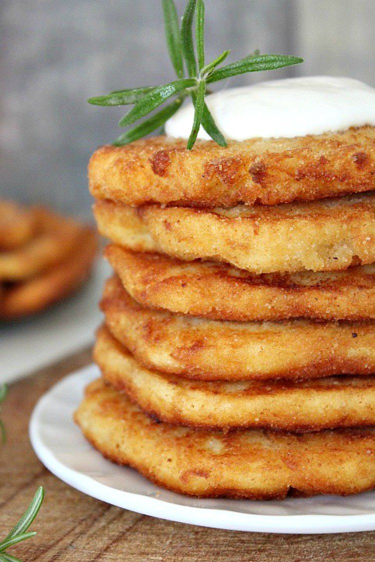 Thanksgiving leftover mashed potato pancakes recipe