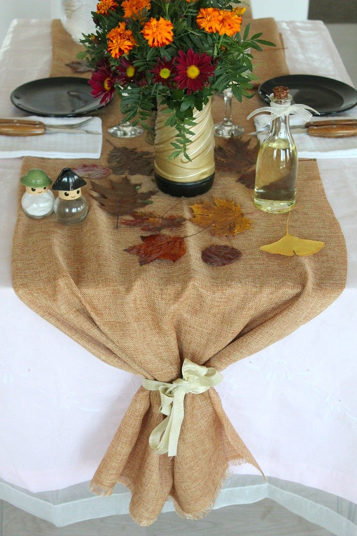 DIY Thanksgiving Burla...