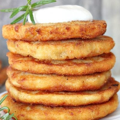 Thanksgiving leftover mashed potato pancakes recipe