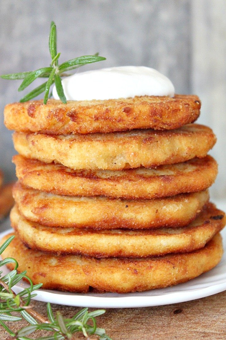 Mashed potato pancakes recipe from thanksgiving leftovers make the most of thanksgiving leftovers with this mashed potato pancakes recipe crisp on the ccuart Choice Image