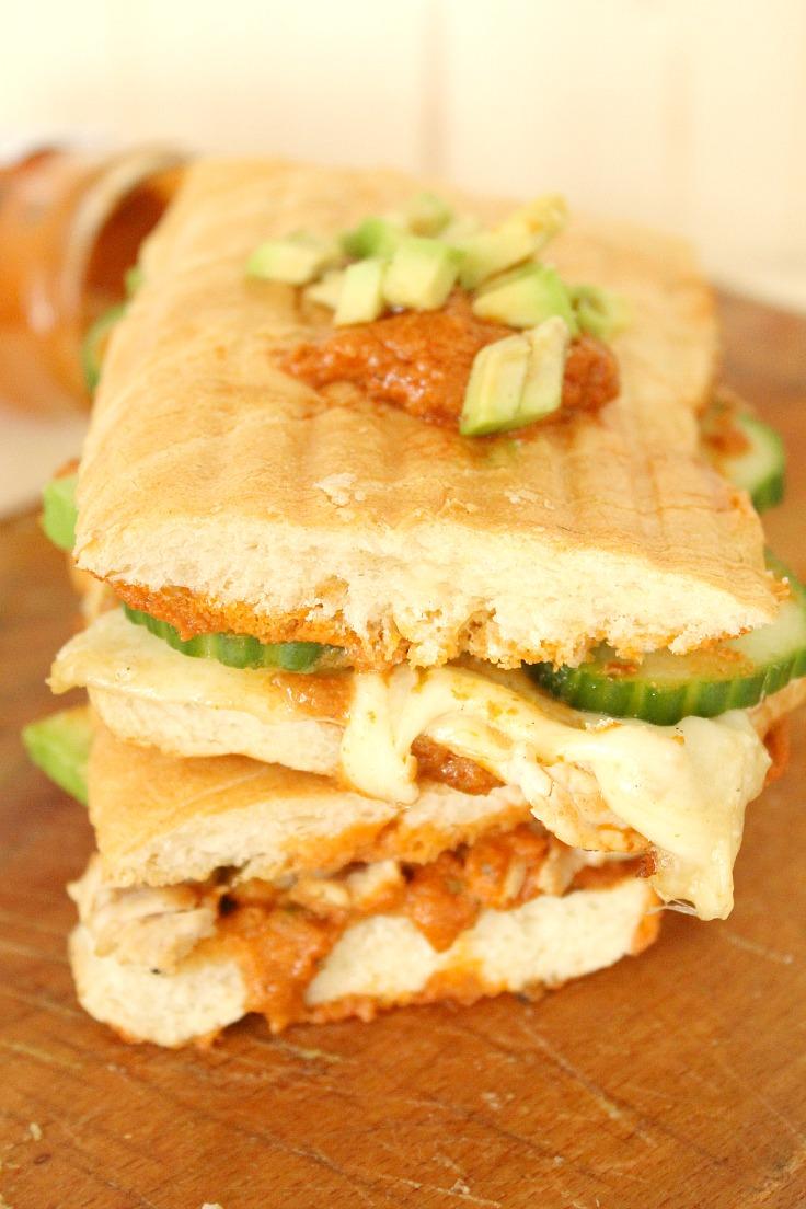 Turkey and pesto panini recipe