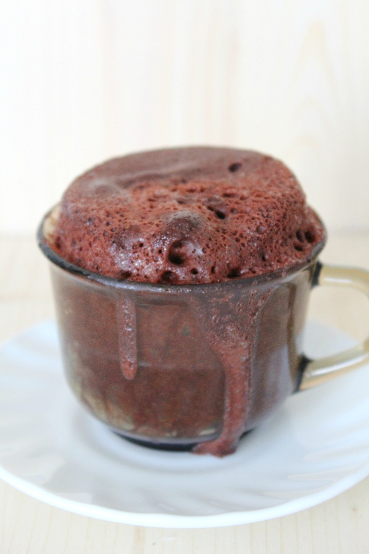 Nutella Lava Cake in a cup