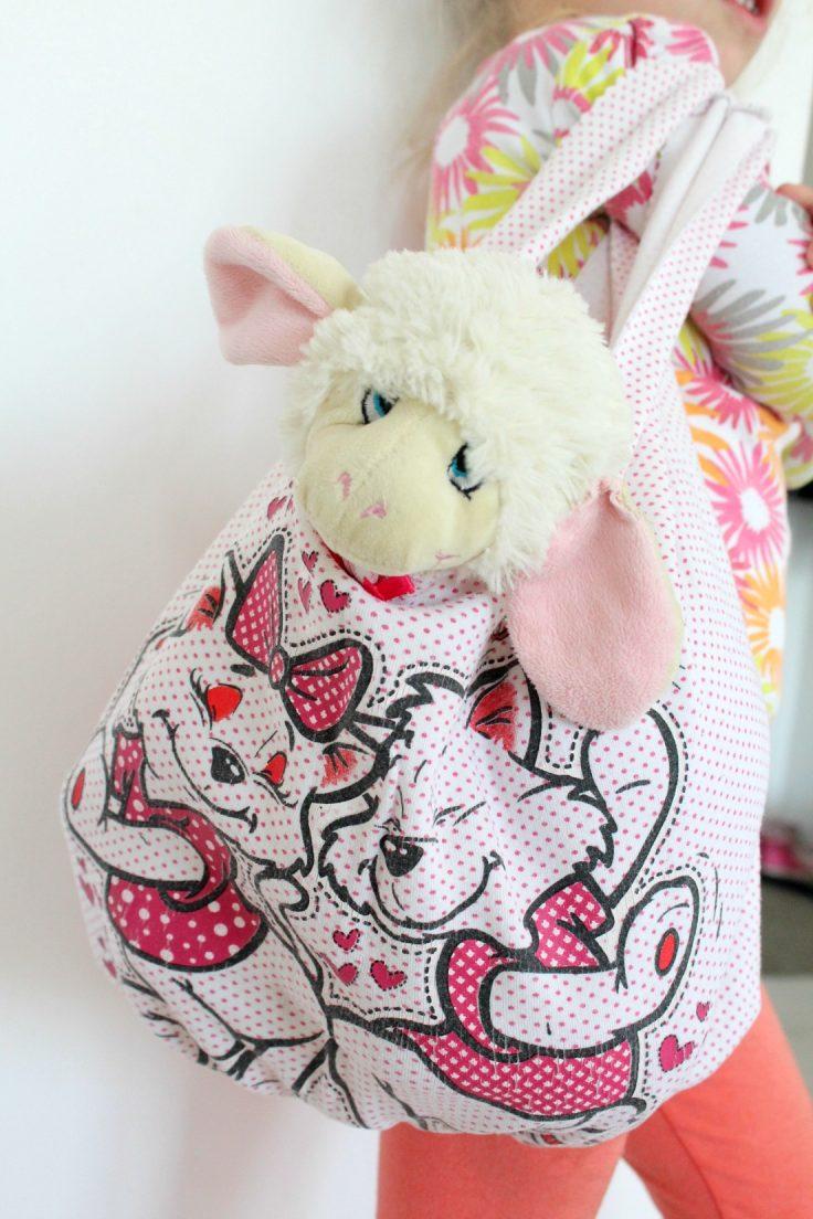 No Sew Tote Bag tutorial