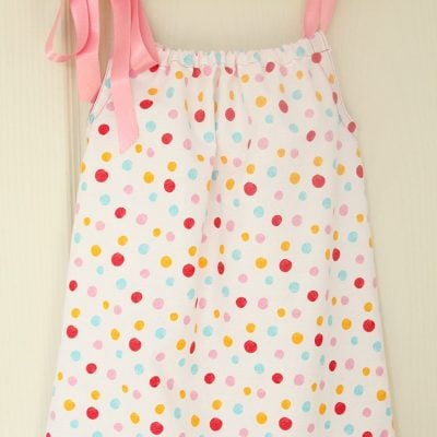 Basic pillowcase dress sewing tutorial for beginners