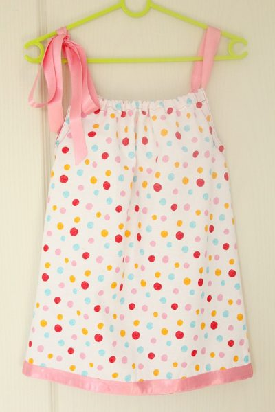 Pillowcase dress tutorial for beginners
