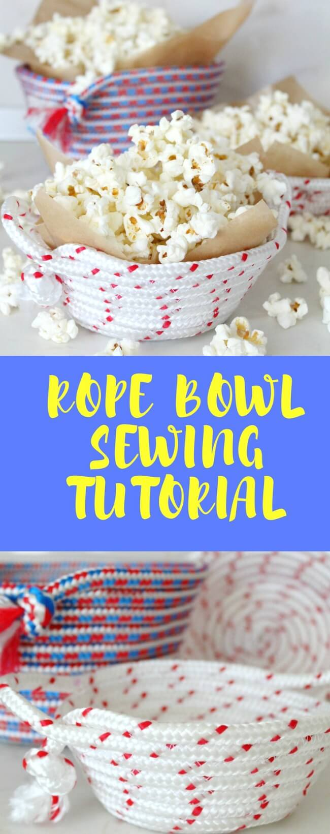 How to sew a bowl