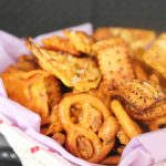 Spicy Asian Party Mix snack