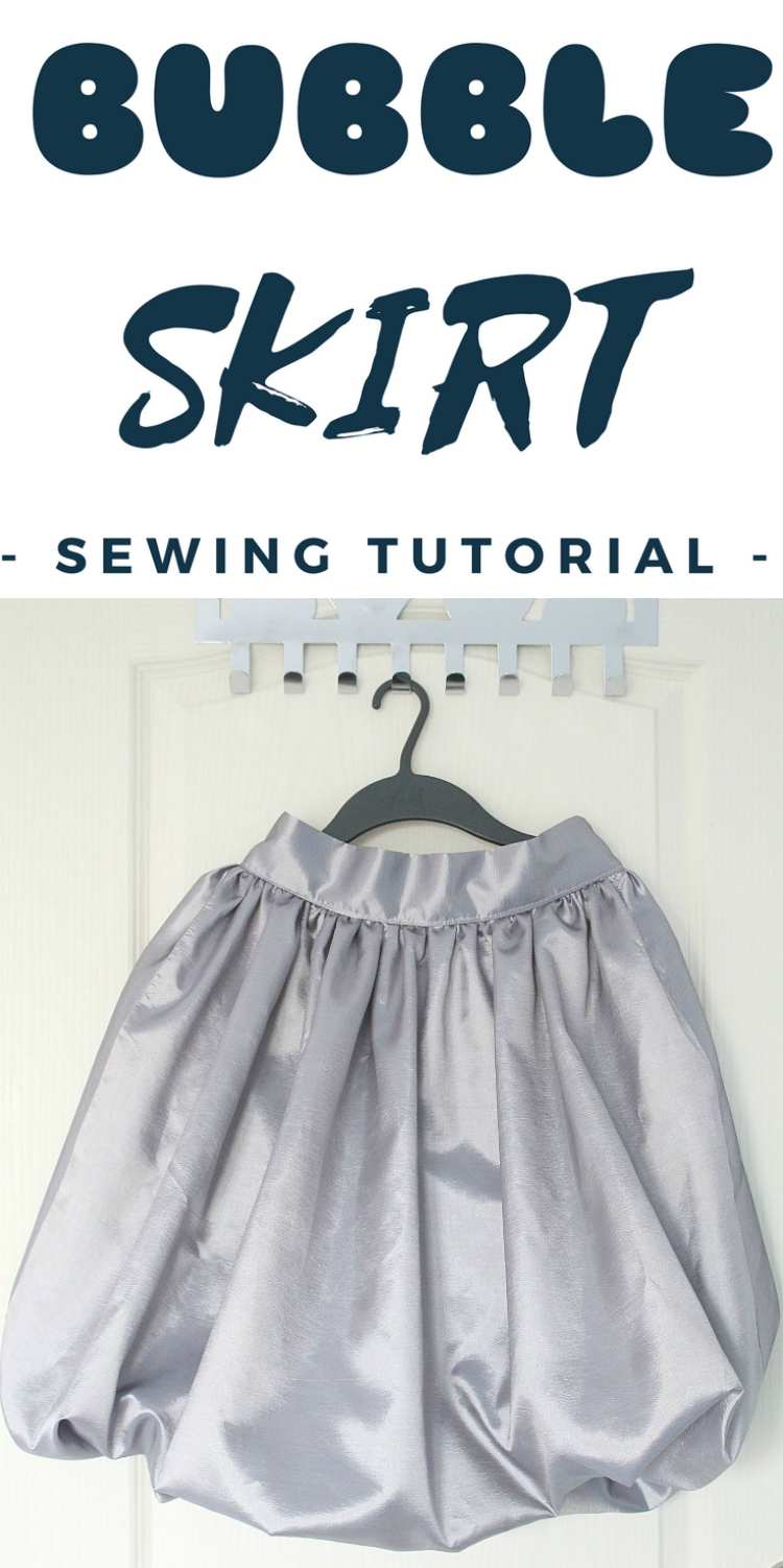 Wanna sew a super adorable and fun skirt? Learn how to make a bubble skirt that is both flattering and comfortable.