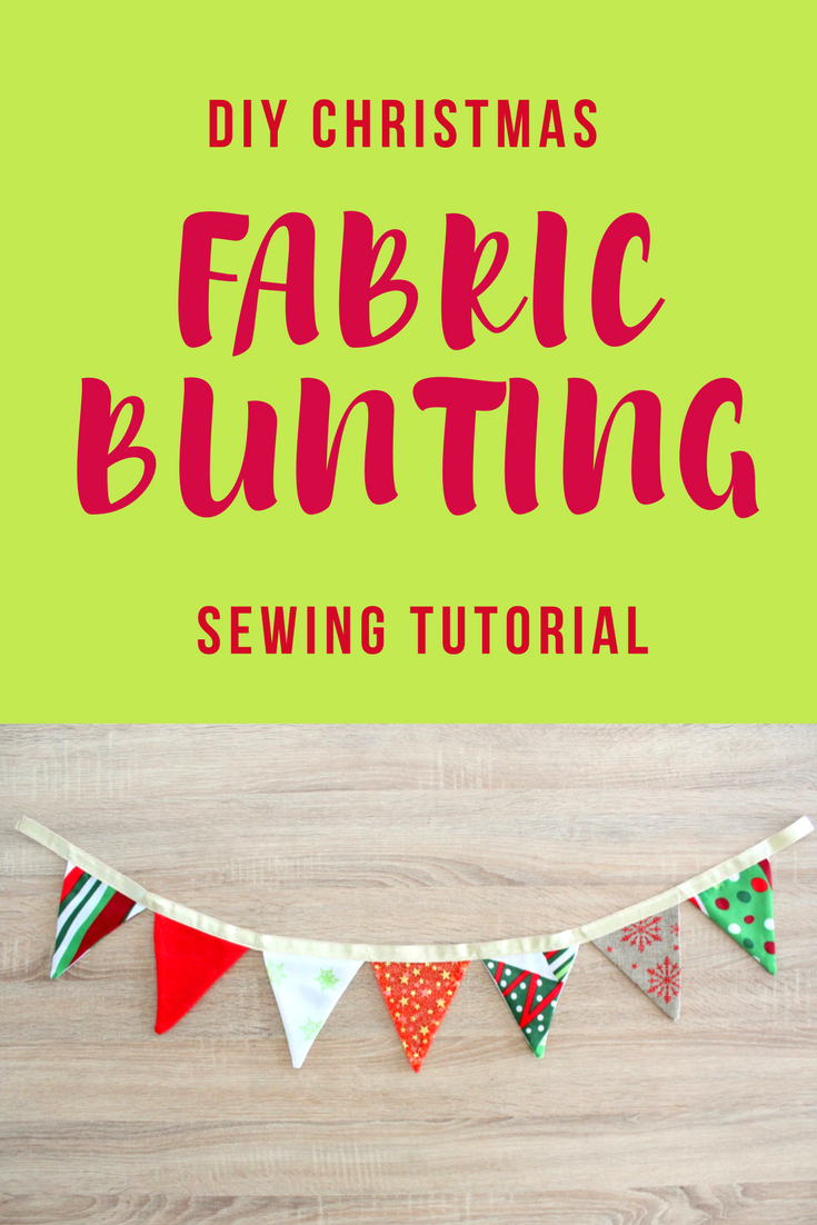 christmas bunting to make