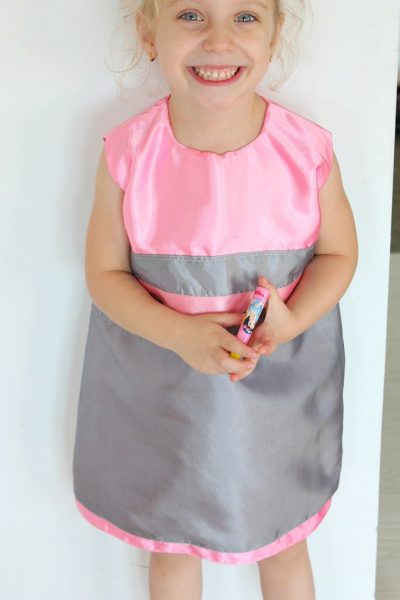 Sleeveless A line dress 4T Free sewing pattern