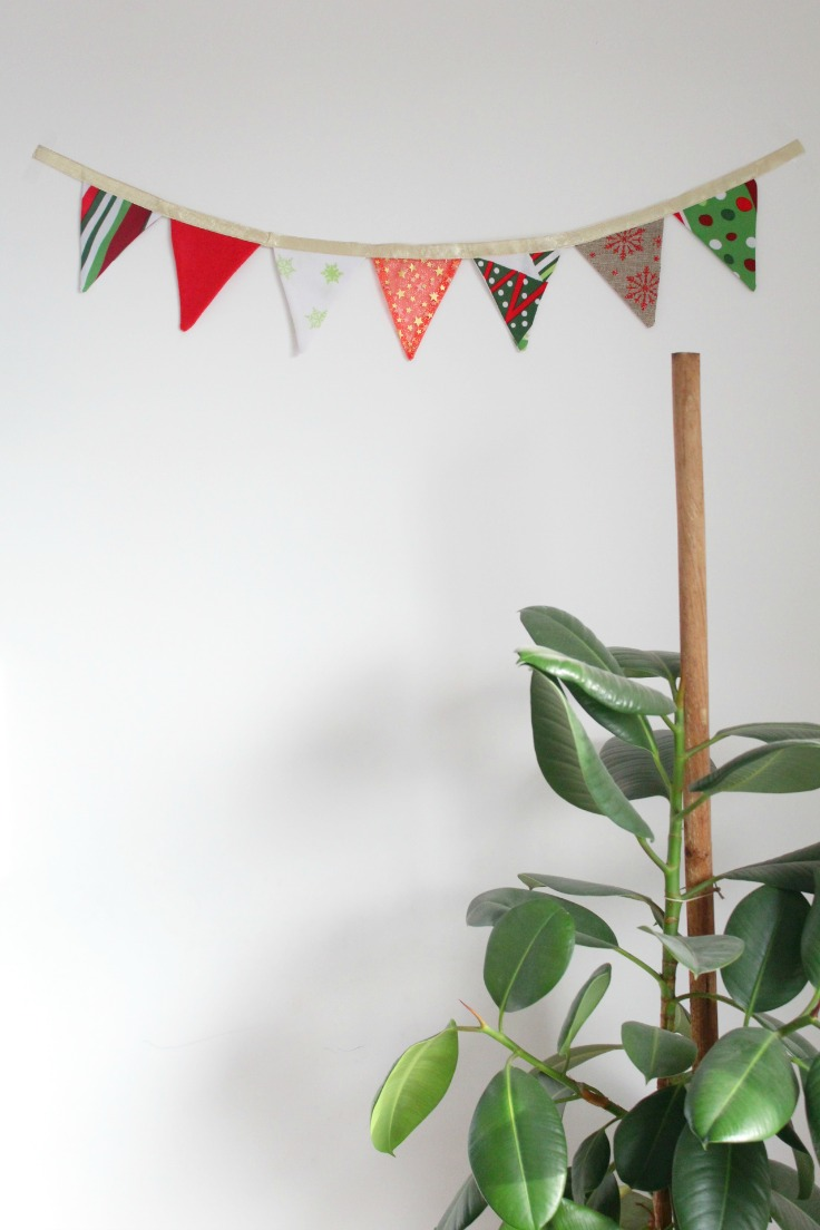 How to make a fabric bunting