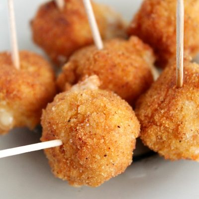 Try These Spicy Fried Cheese Balls For A Perfect Party Appetizer