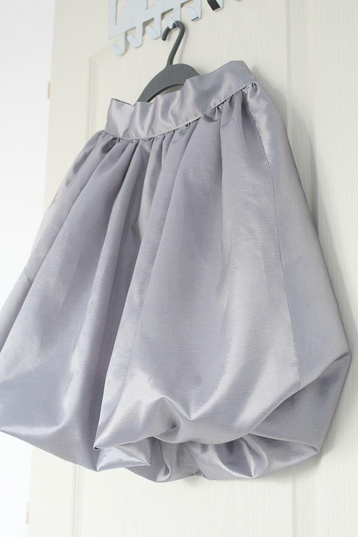 Grey Bubble Skirt 33