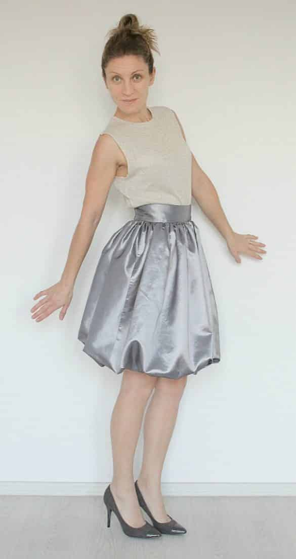 Balloon skirt pattern