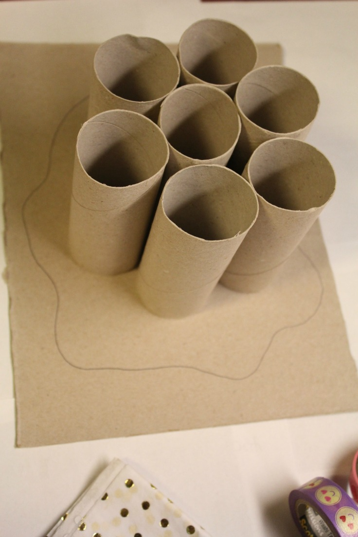 Diy Toilet Paper Rolls Organizer