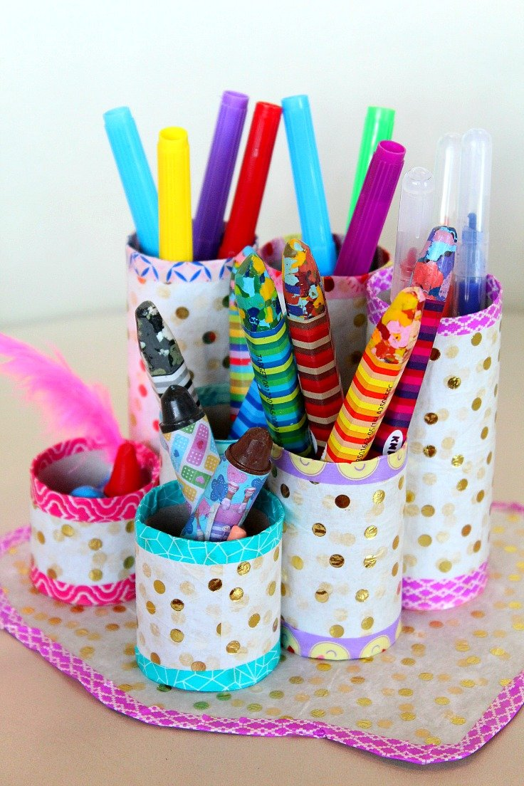 Diy Pen Organizer Easy Amp Affordable With Recycled Materials