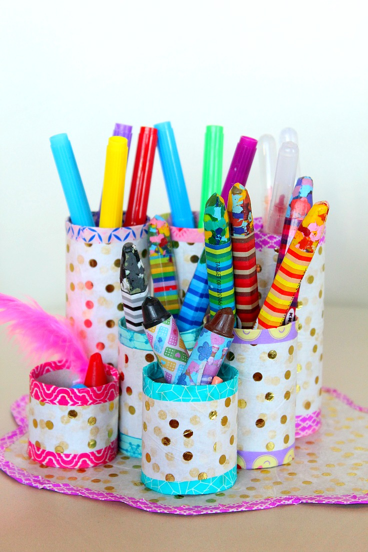 Easy DIY Pencil Holder