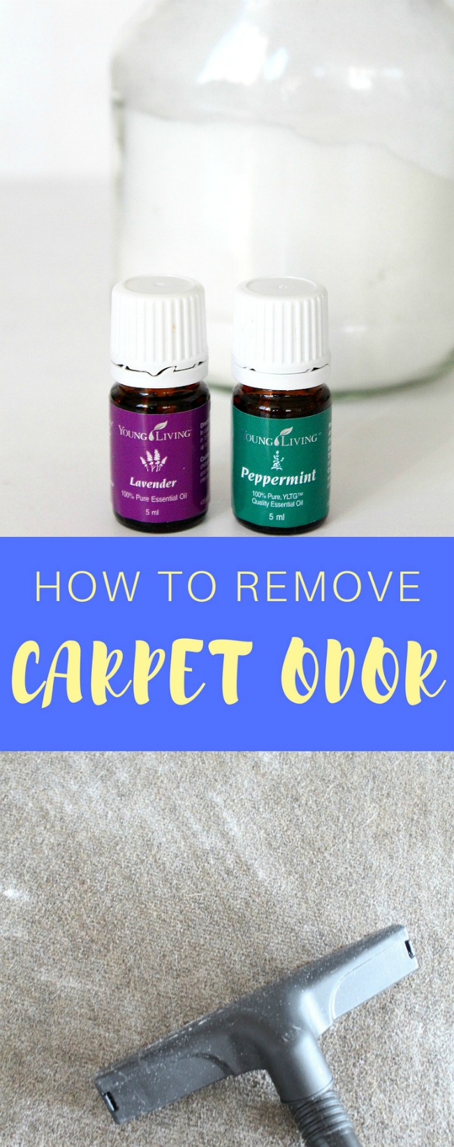 How to remove carpet odor