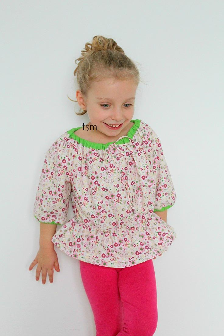 Peasant blouse pattern free