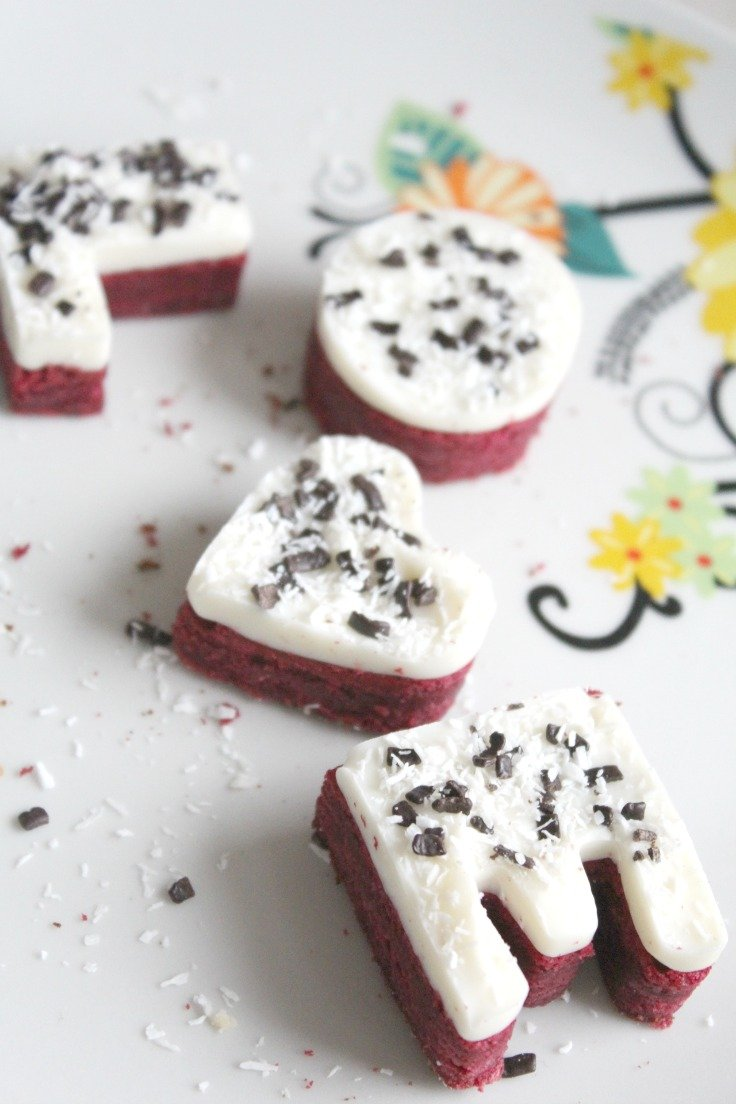 easy red velvet cookies