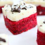 Mini Red Velvet Cake Cookies For Valentine's Day