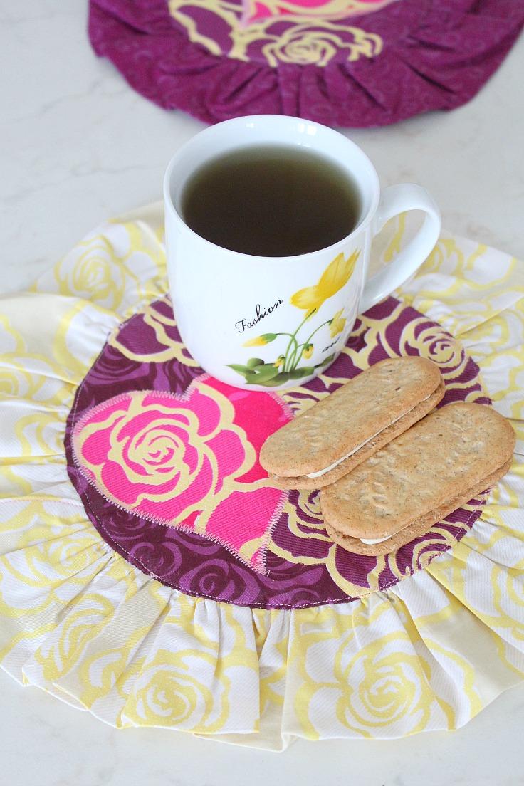 Mug rug pattern