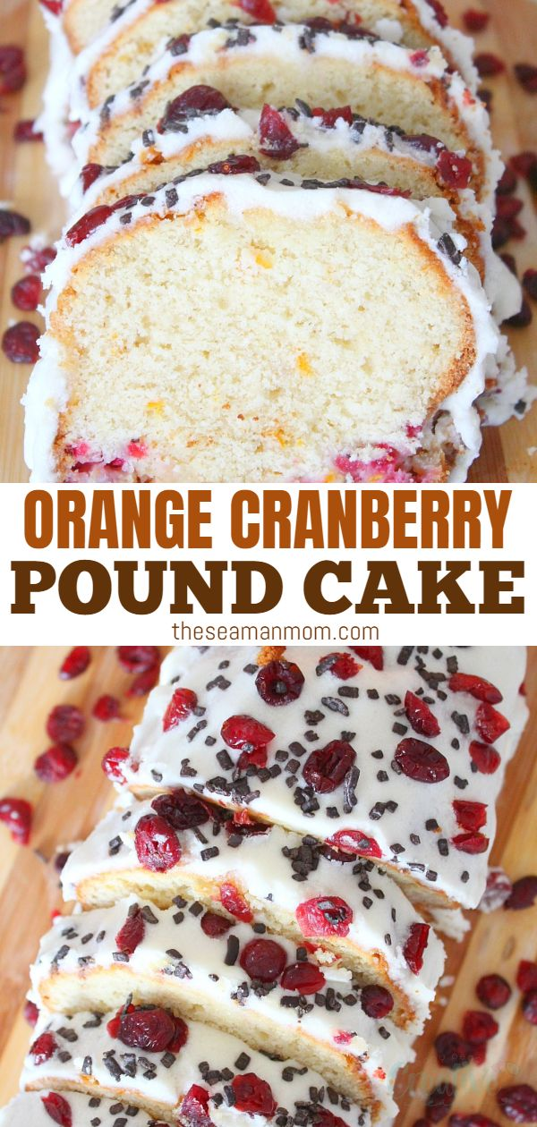 This rich, chocolaty orange cranberry pound cake recipe is crazy moist and perfect for fall and winter, perfectly combining the sweetness of orange with the tartness of fresh & dry cranberries! via @petroneagu