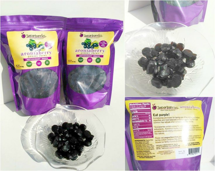 Superberries' Aroniaberry Gummy Chews