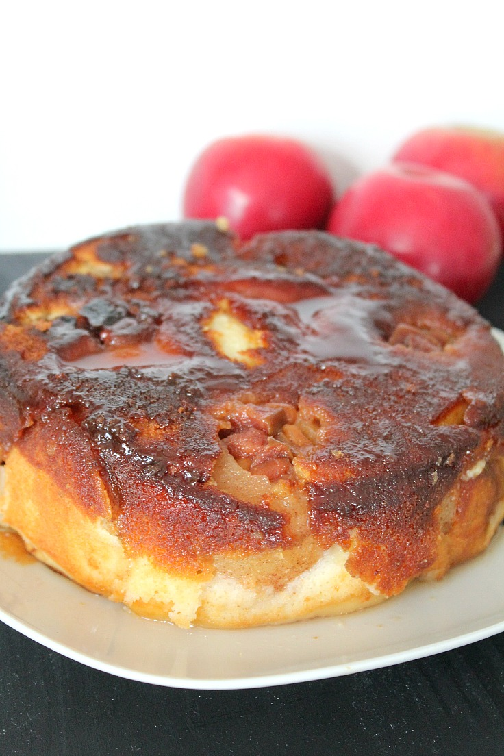 Upside down apple cake recipe