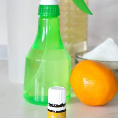 Homemade lemon disinfectant for home