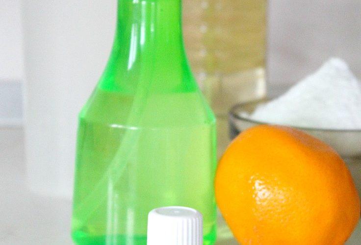 Homemade lemon disinfectant for home