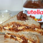 Peanut Butter Nutella Breakfast