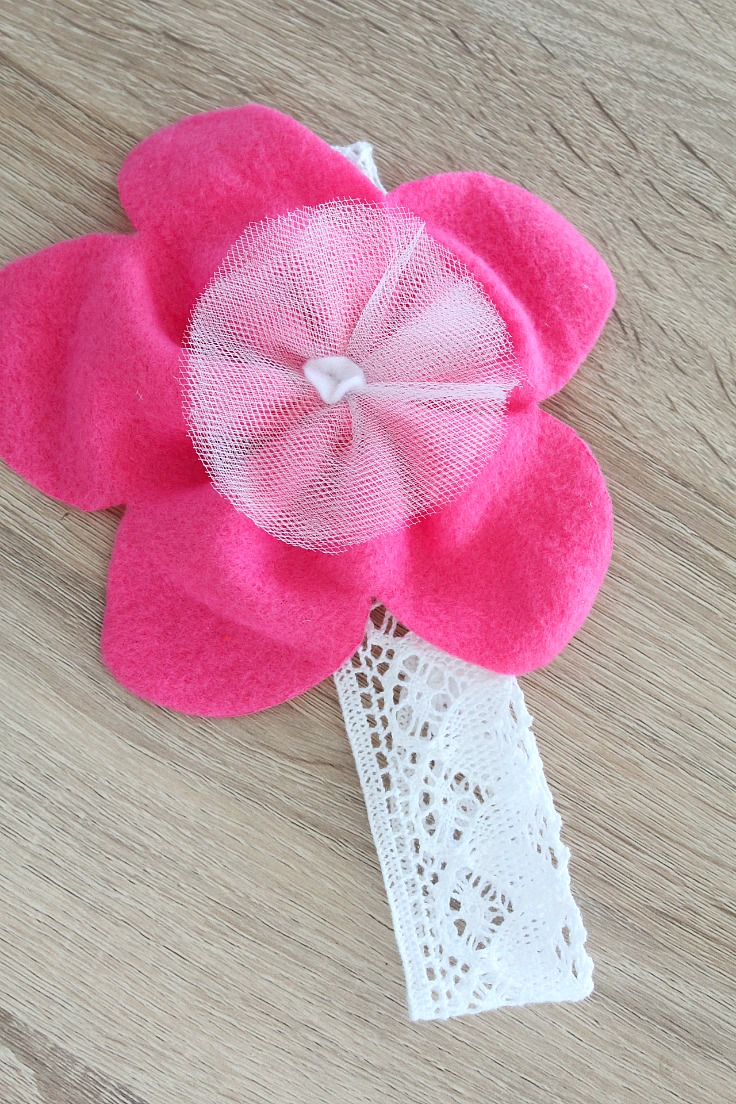 Lace Headband Tutorial