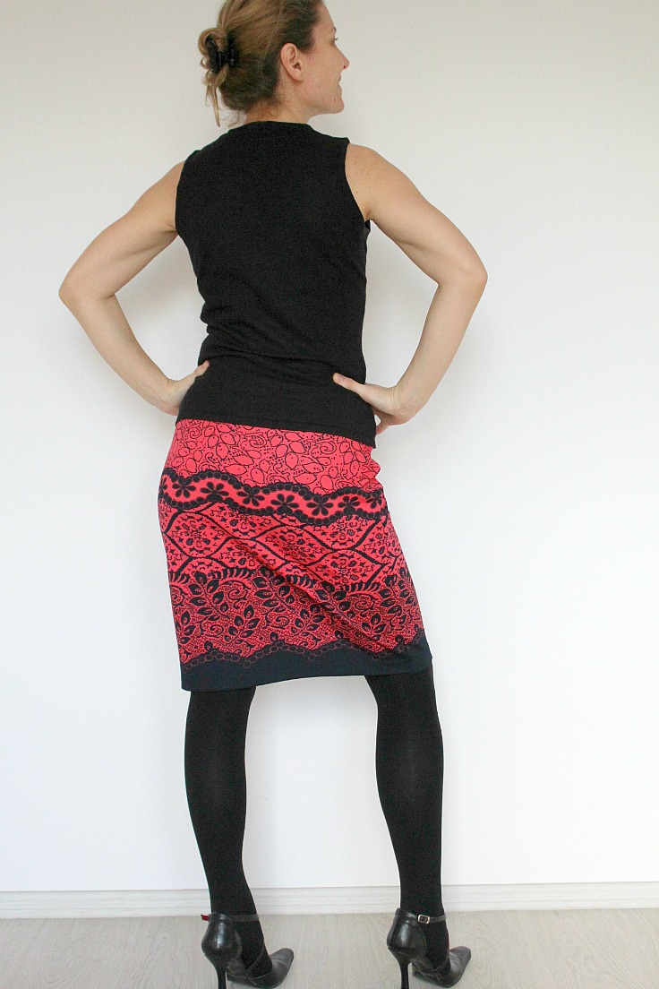 Easy Womens Skirt Tutorial