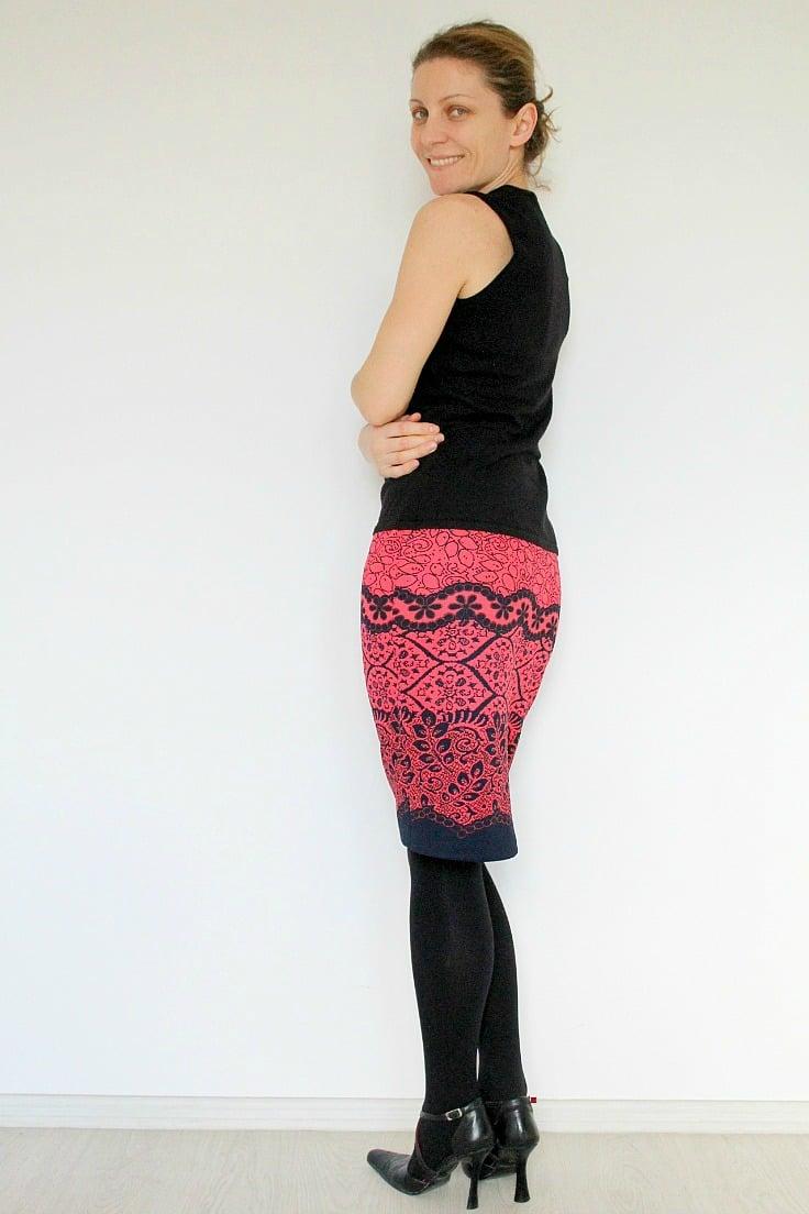 Easy Womens Skirt Tutorial
