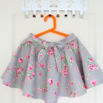 DIY circle skirt sewing tutorial