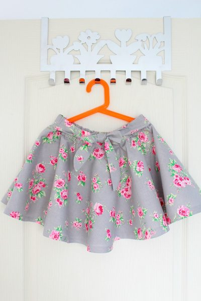 Full Circle Skirt With Elastic Waist Sewing Tutorial