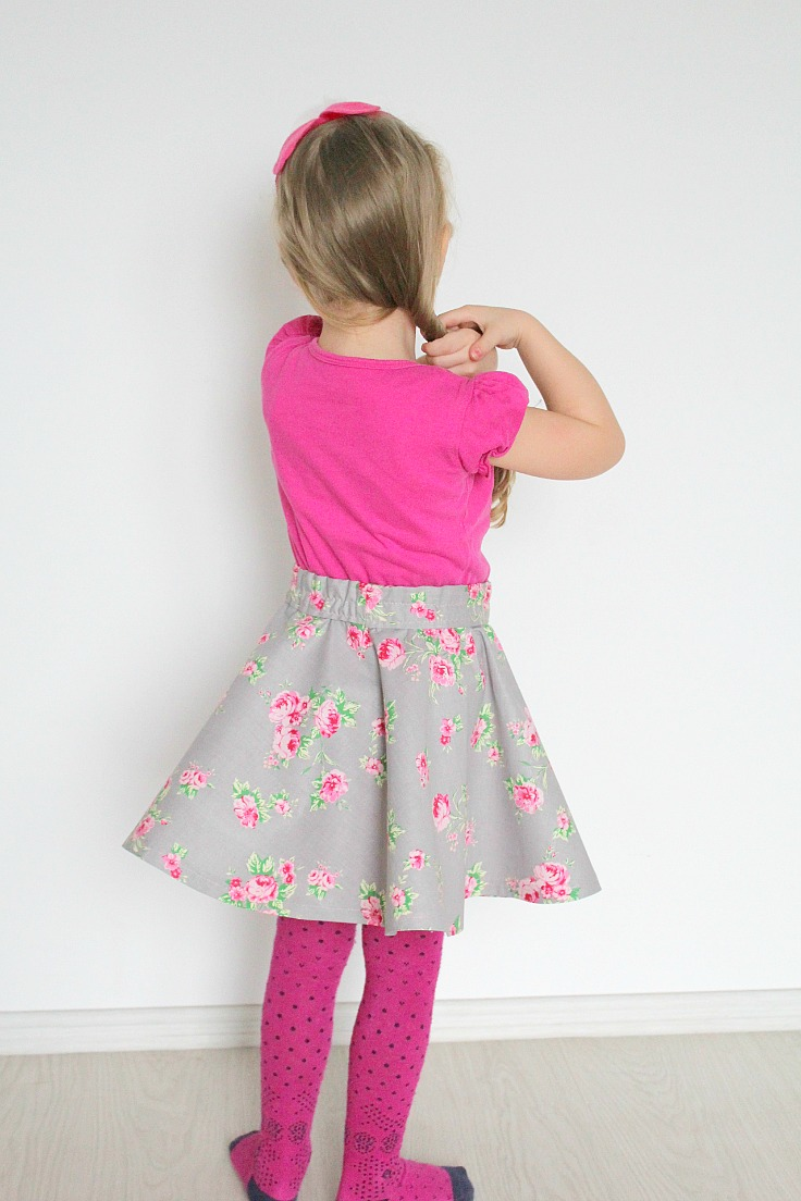 Circle skirt tutorial with elastic waist without a pattern without a pattern how to make a circle skirt with elastic waist img6358 jeuxipadfo Image collections