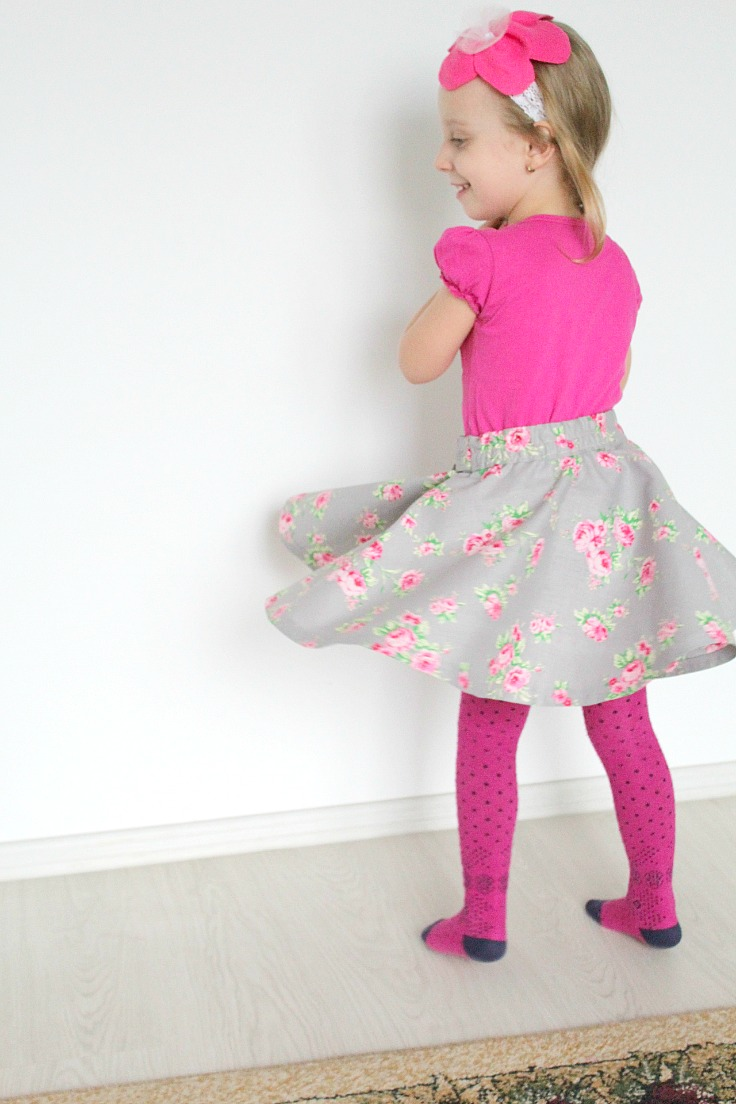 How to make a circle skirt
