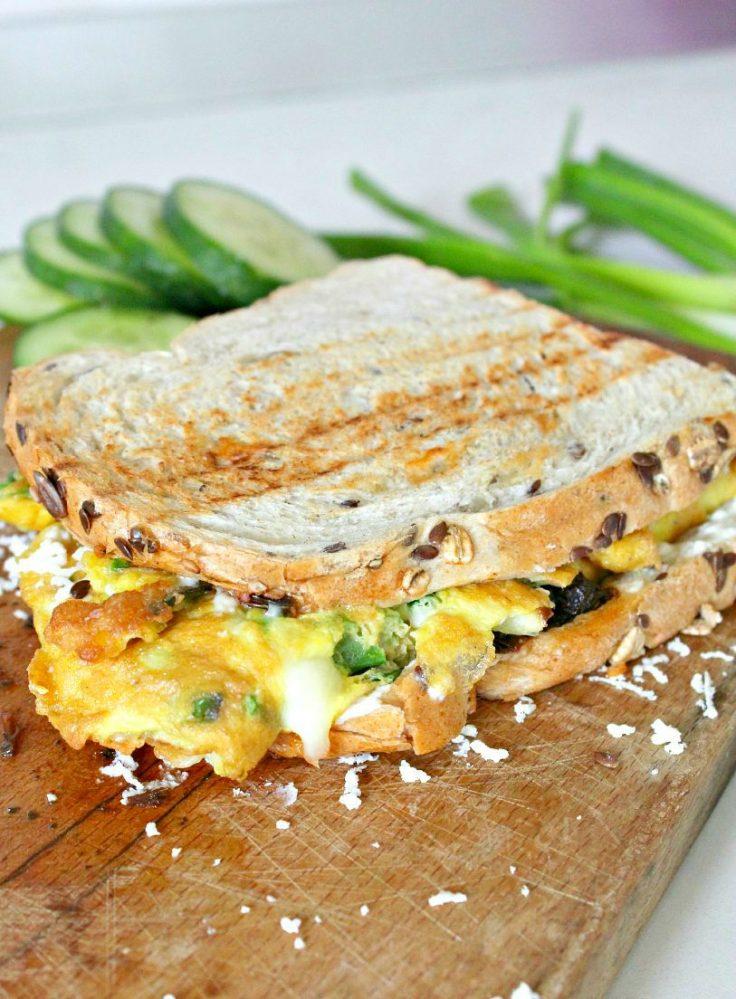 Omelette sandwich recipe 5