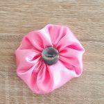 DIY Fabric Yo Yo Flower