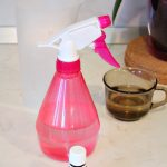 DIY fridge odor remover spray