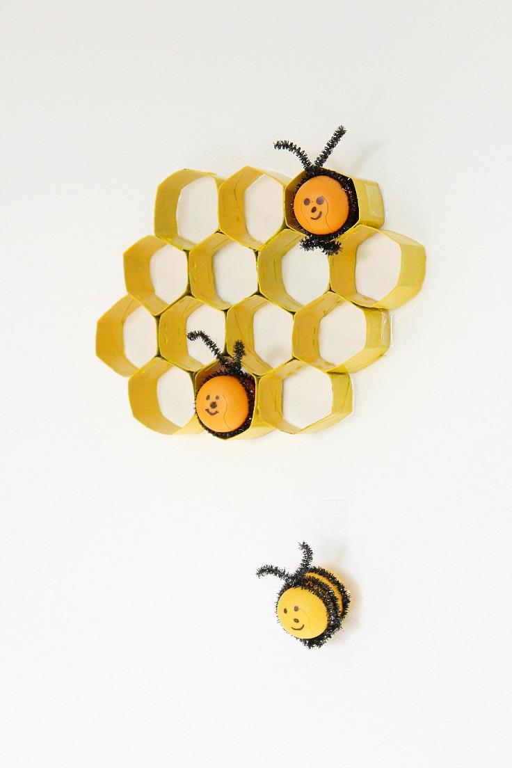 Toilet Paper Rolls Honeycomb