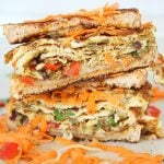 Spicy Indian Omelette sandwich recipe