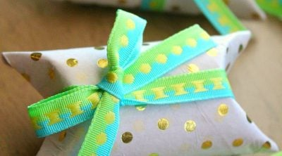 Toilet paper rolls gift boxes