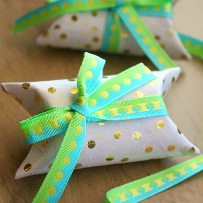 DIY Toilet Paper Roll Gift Box