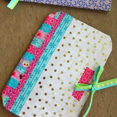DIY Notebook With Recycled Cereal Box